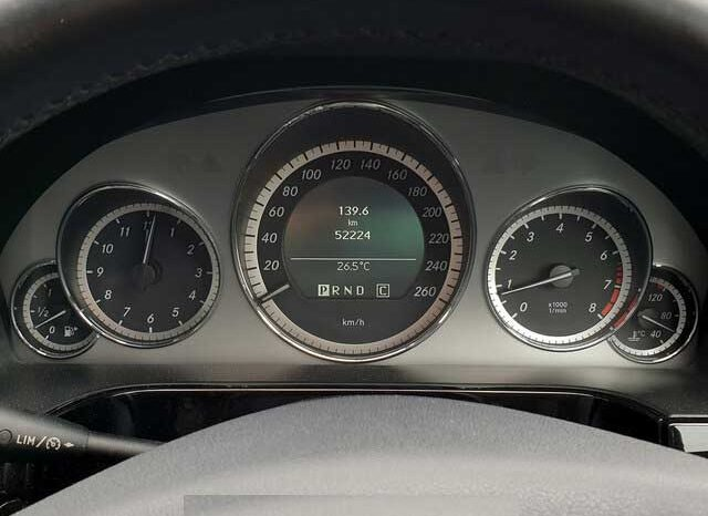 2010 MERCEDES-BENZ E-CLASS E250CGI 1.8 AVANTGARDE full