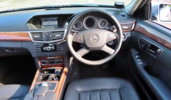 2013 MERCEDES-BENZ E-CLASS E 200 BLUEEFFICIENCY full